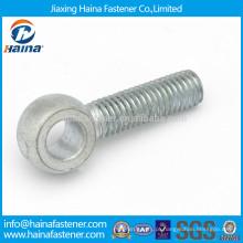 Aço de carbono DIN444 Hot Dip Galvanized eye screw