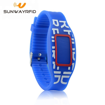 125KHZ Smart Colorful Silicone Rfid Gelang EM4200