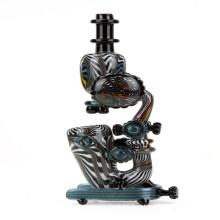 """Logi """"Microscópio"""" Sentando Sherlock Hand Pipe para Smoke Pessoa (ES-HP-022)"""
