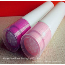 Nouveau tube en plastique pour huile de massage avec applicateur Vabrating