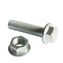 Metric steel Hex flange bolts