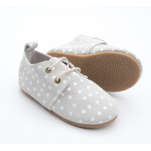 Anak-anak Oxford Shoes Sneaker Rubber Leather