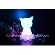 Lovely pets led sensor night light