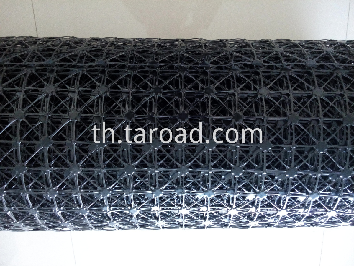 geogrid for road construction soil stabilization