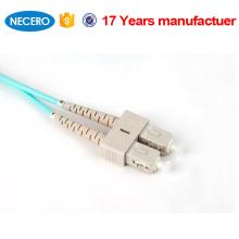 SM duplex 3.0mm lc cabo de fibra óptica com revestimento LSZH