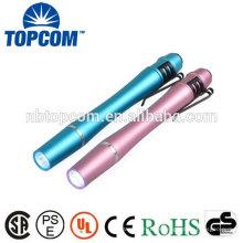 TP-P721 Luz brillante de aluminio LED Penlight Médico