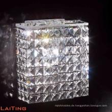 Sconce messing wandleuchte moderne K9 kristall quadratischen wand leuchte 32412