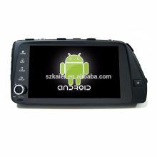 Núcleo Octa! Dvd do carro do android 7.1 para Verna / acento 2017 com a tela capacitiva de 9 polegadas / GPS / relação espelho / DVR / TPMS / OBD2 / WIFI / 4G