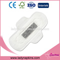 Super absorbent free samples cotton sanitary napkins company