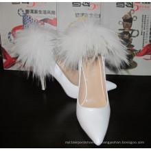 2016 nova coleção moda dedo apontado senhoras sapatos de vestido (hcy02-1479)