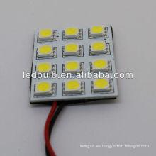 Tamaño 38.5 * 34MM panel de la lámpara con los bulbos