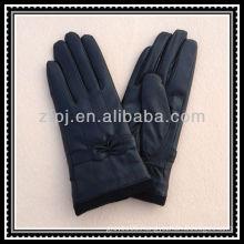leather palm knit wrist gloves 40cm