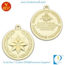 Персональный дизайн Плакировкой золота 3D сувенирные Медали с цинковый сплав штамп