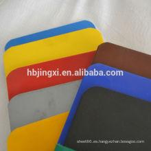 lámina de polietileno coloreado (hoja de polietileno de baja densidad)