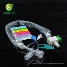 Catéter de succión cerrado desechable de tubo de PVC