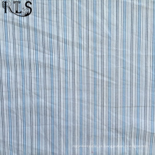 Tejido de popelín de algodón hilado teñido de tela para camisas/vestido Rlsc50-3