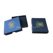 Boîte cadeau en papier avec logo d'impression