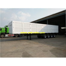 4 Axles 60ton Cargo Box مقطورة