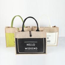 Shopping Tote Jute Bag
