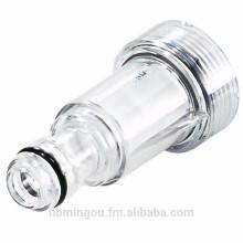 """Высокое качество фильтра пластиковый впускной вода G 3/4"""" штуцер небольшим совместим со всеми видами мойки высокого давления фильтр для воды"""