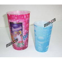 2015 Colorful Plastic Cup 3D Model for Promotion