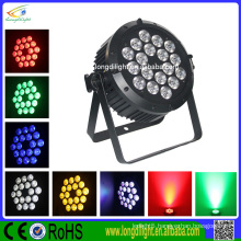 guangzhou par light 18x10w 5in1 rgbwa dmx power led par light stage light