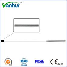 Règle guidant des instruments d'endoscopie transforaminale lombaire