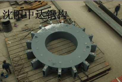 High precision steel industrial component