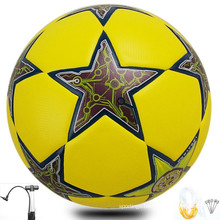 promotional soccer and best laminated club football made in China