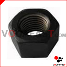 A194-2h Noix hexagonales Heavy Duty Black Finished