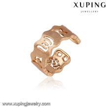14292 Atacado simplesmente design senhoras jóias estilo árabe anel de dedo de abertura