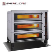 Équipement industriel de boulangerie K622 grands fours de cuisson à échelle pour le prix de pain de pain de vente