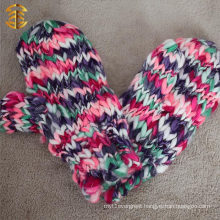 Winter Mitten For Adults Colorful String One Finger Mitten Golves