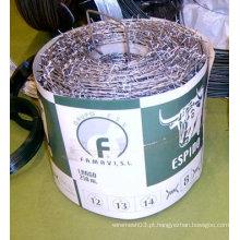 Arame farpado galvanizado de alta qualidade