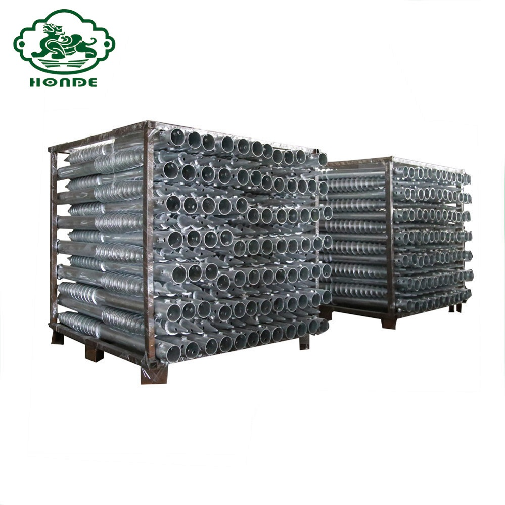 galvanized soil screws