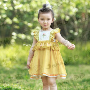 children's hand smocked girls boutique dress
