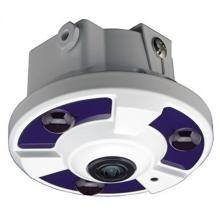 180Degree H.264 / H.265 3.0MP IR Dome Fisheye IP Camera