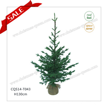 H90-125cm Atacado Customized Grass Craft Christmas Tree Gift
