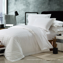 Satin Check Hotel Cotton Bedding Linen with Comforter Set (WS-2016214)
