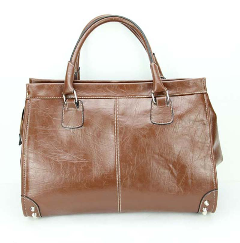 Leather Women S Tote Bags Dka 4238 H010 Brown