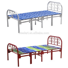 Space saving adult metal hotel folding bed