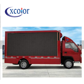 High Brightness Mobile Truck Advertising geleid