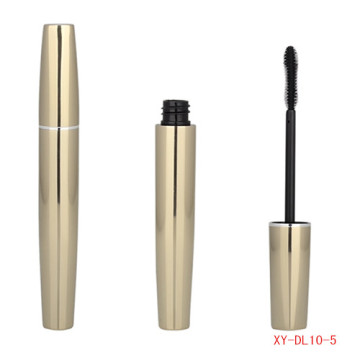 Cosmetic Gold Color Mascara Tube