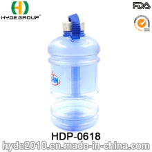 2.2L / 1.89L populaire en plastique PETG Gym cruche d'eau, bouteille d'eau en plastique de haute capacité (HDP-0618)