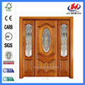 *JHK-003 CS  Wood Door Frame Wood Carving Designs For Doors Mahogany Interior Doors
