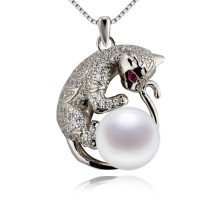 Newest Tiger Animal Shaped Pearl Pendant Designs