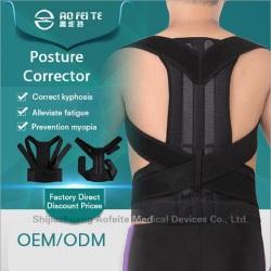 Back posture corrector shoulder support brace belt