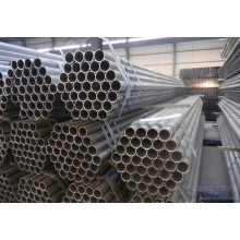 Round ERW Pre-Galvanized Steel Pipes with Q195, Q235, Q345 Steel Grade