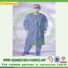 Sábana de cama médica no tejida disponible de la tela