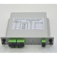 Melhor e preço barato plc divisor 1x8 lgx caixa, divisor plc caixa lgx 1x8 GPON EPON PON Sistema
